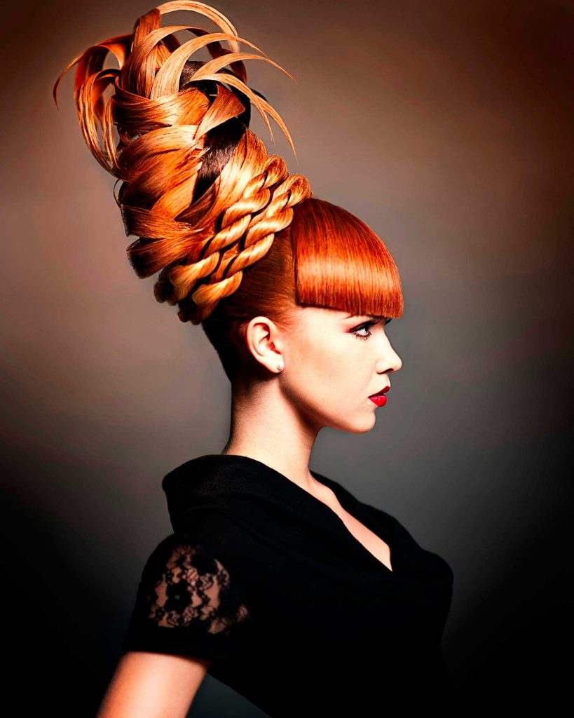 Дизайнерское плетение кос