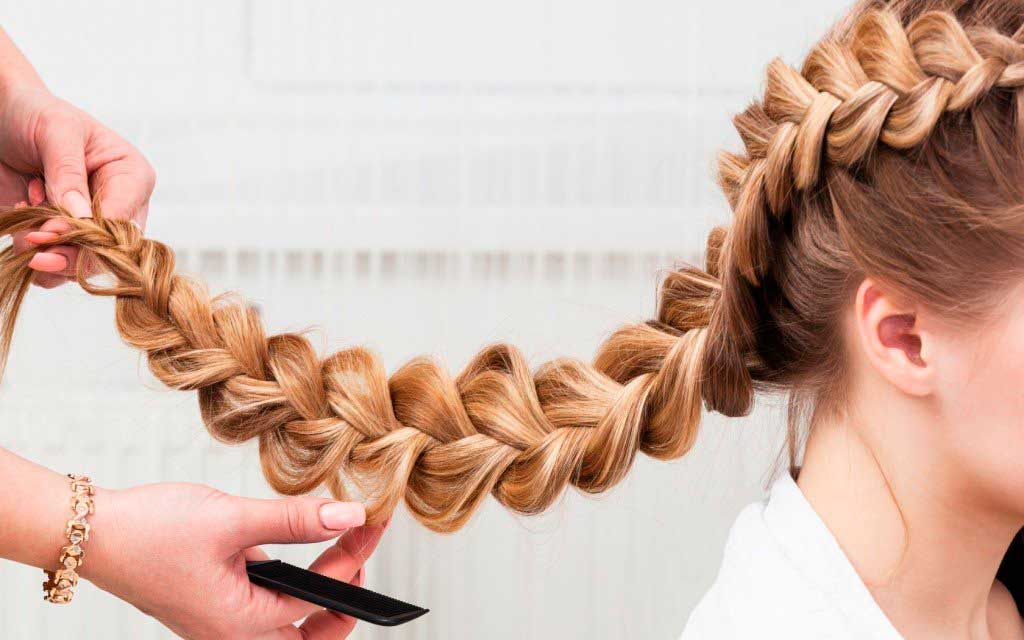 Европейское плетение косы