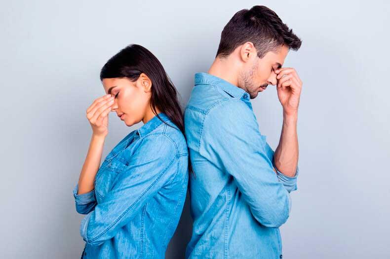 Переживают кризис в отношениях